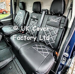 ford transit custom double cab van seat cover 6 seater oem plus x23 in stock ebay. Black Bedroom Furniture Sets. Home Design Ideas