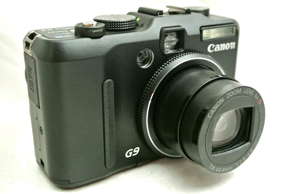 Canon Powershot G9 12.1MP compact digital camera made in ...
