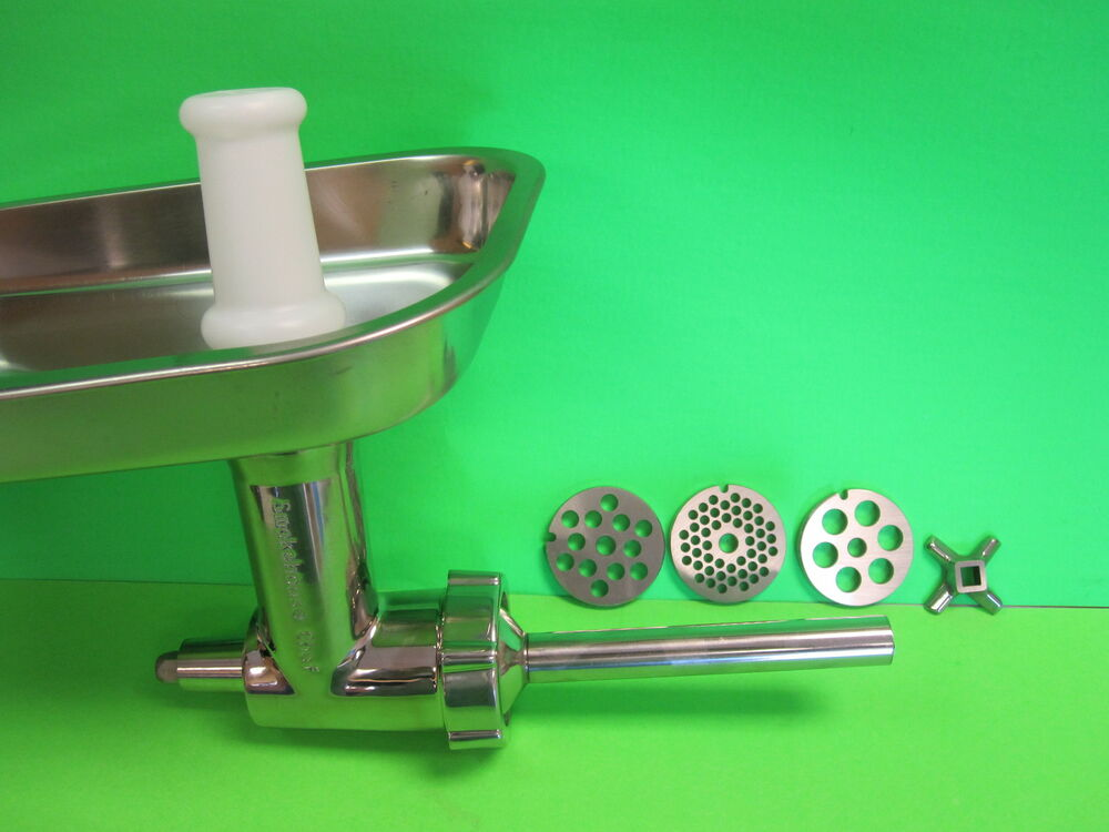Stainless Steel Meat Grinder Food Chopper Attachment For Kitchenaid Mixer Ebay