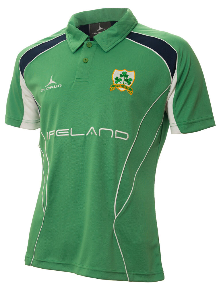 Olorun Ireland Rugby Supporters Iconic Polo Shirt S