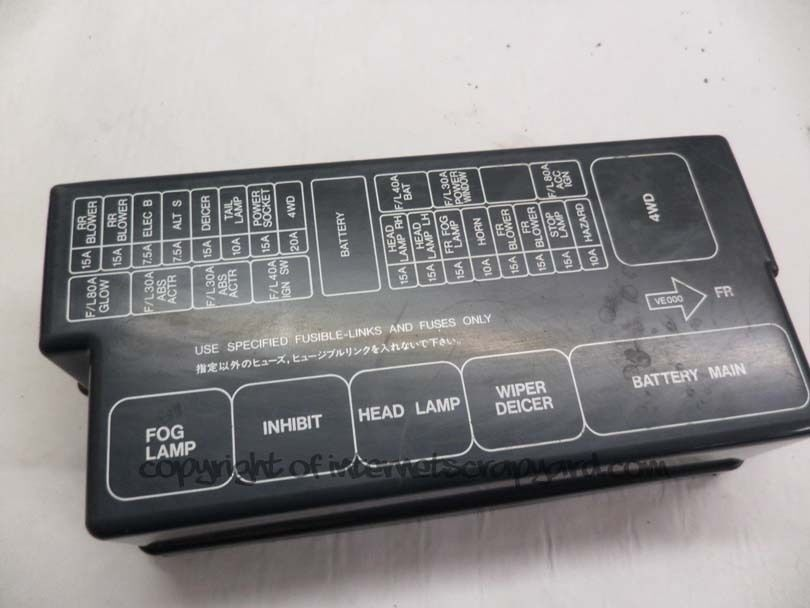 Nissan Elgrand Fuse Box Nissan Auto Wiring Diagram