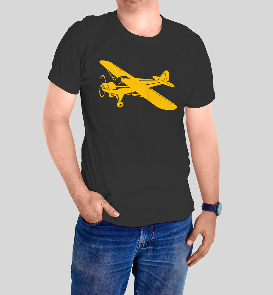 new piper cub airplane t shirt made to order cusomize