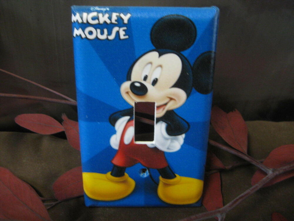 light plate cover,light switch plate home decor outlet plate outlet cover Disney Mickey various faces