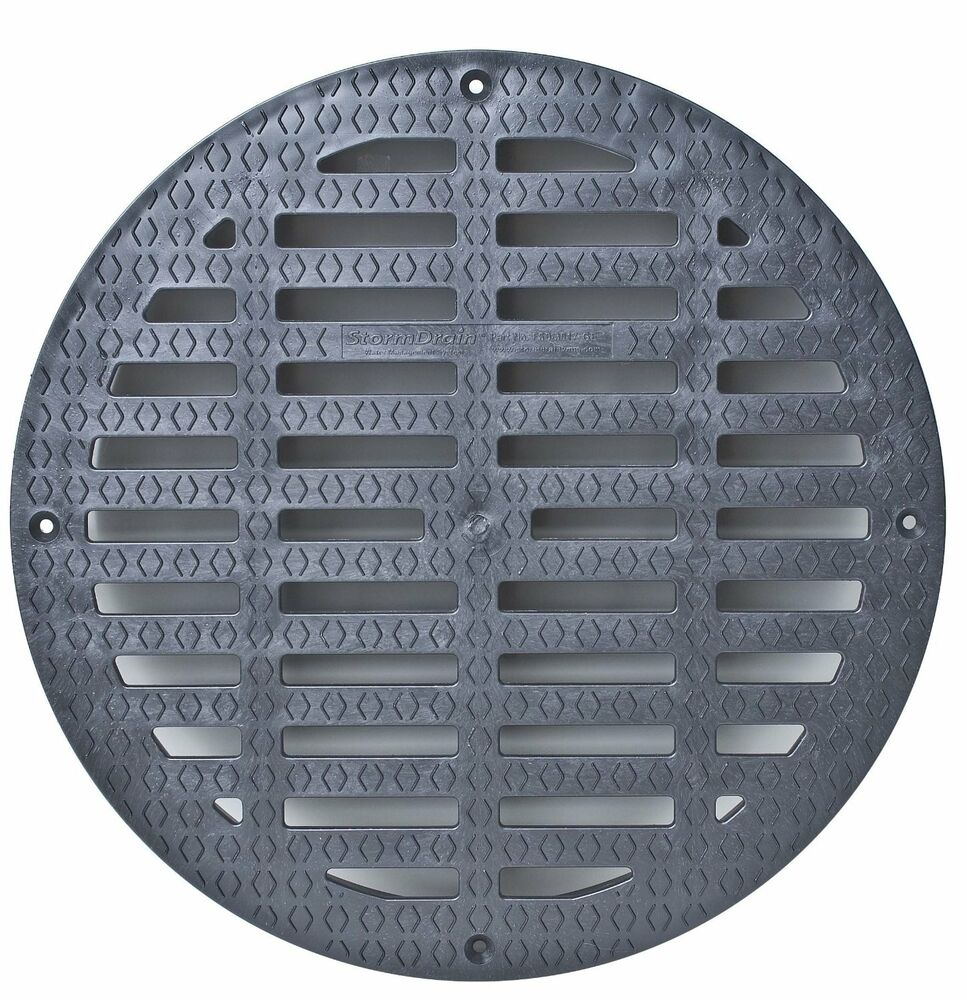 Storm Drain Fsd 3017 G20b 20 Quot Round Flat Grate For Catch