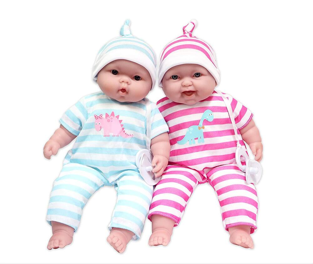Jc Toys Lots To Cuddle Babies Twins Dolls New Free