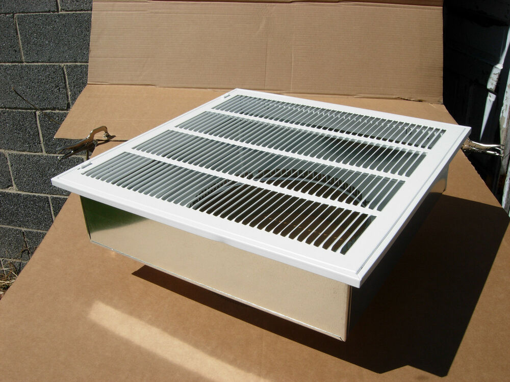 20 Quot X20 Quot Furnace Return Air Kit With Filter Grille Box And