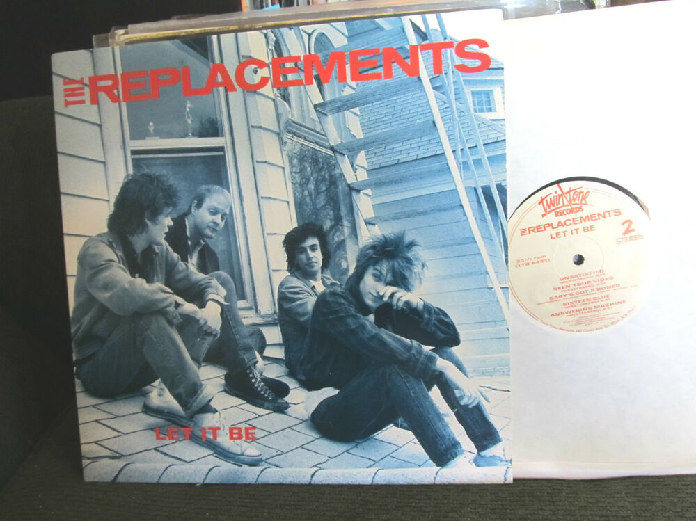 The Replacements Let It Be Original 84 Twin Tone 1st Lp