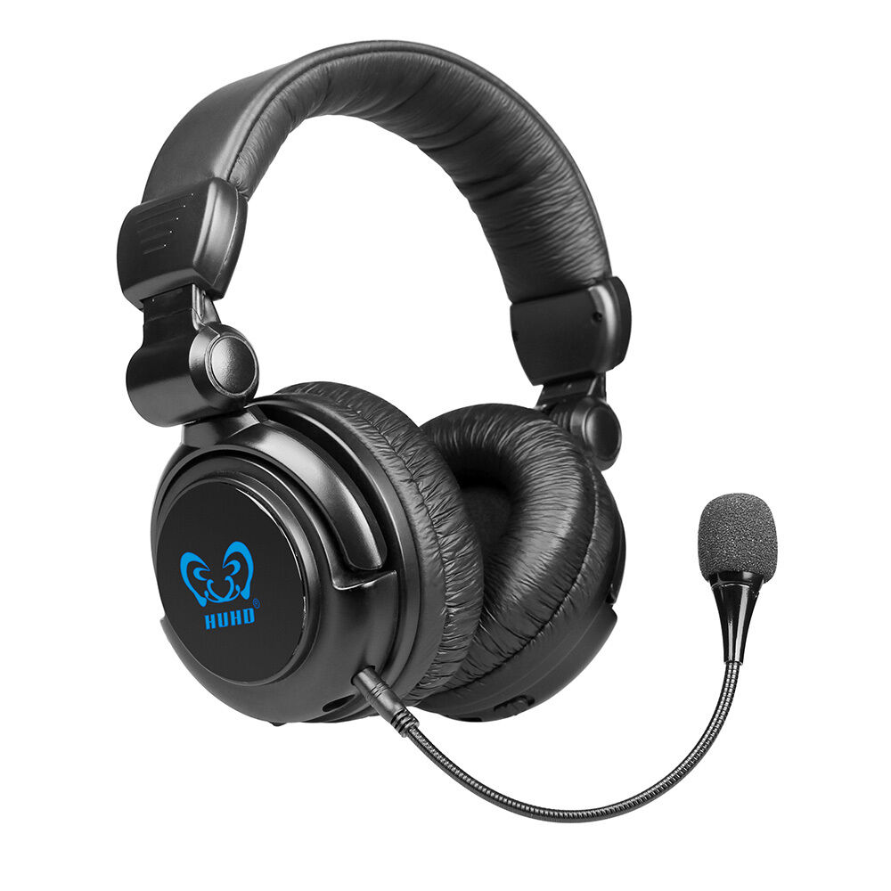 fiber optical huhd wireless pro gaming headset headphone. Black Bedroom Furniture Sets. Home Design Ideas