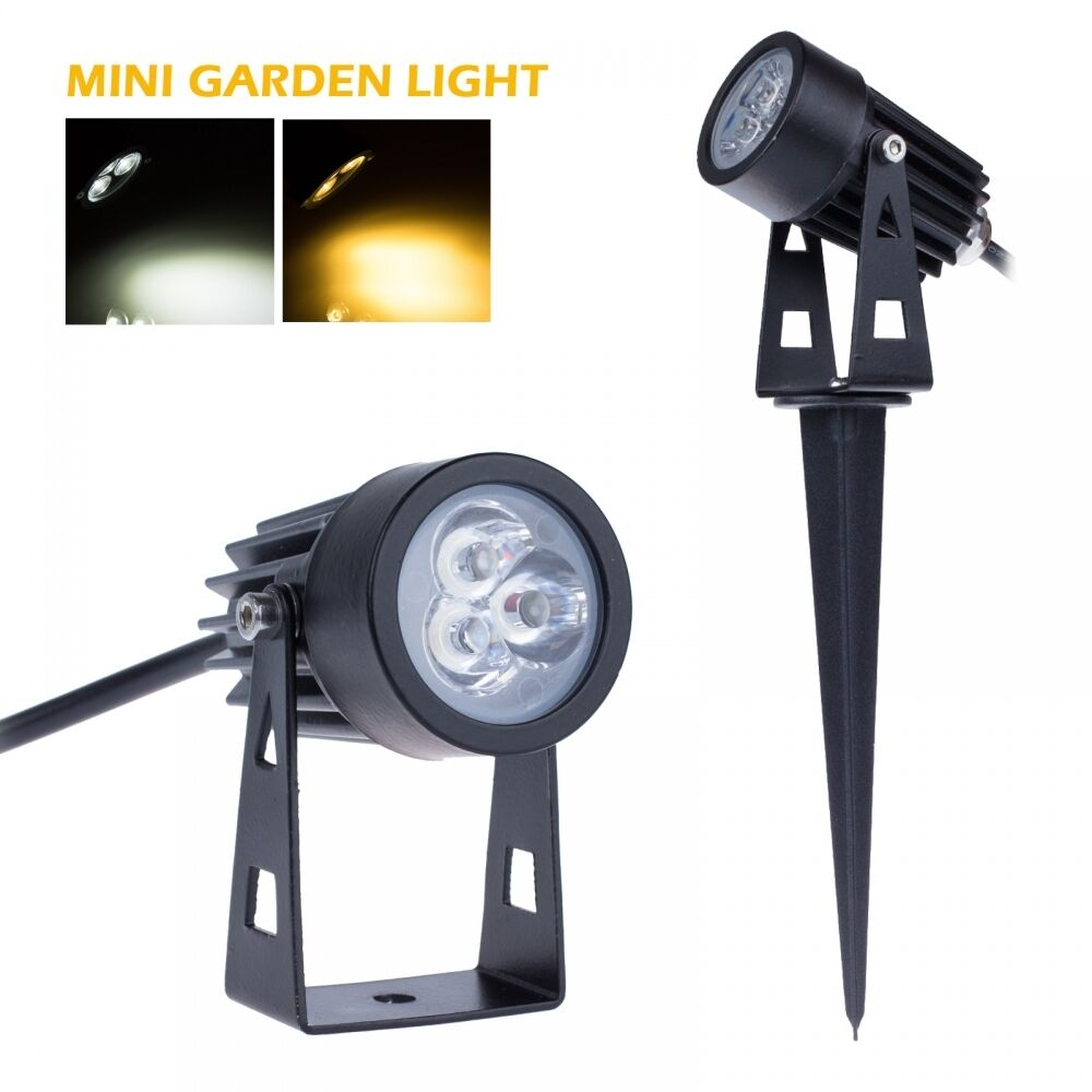 12V 110V 220V 3W Waterproof Outdoor LED Landscape Light