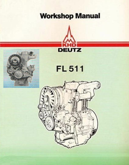 deutz f1l 511 f2l 511 service workshop repair manual automobile workshop manual download auto workshop manual