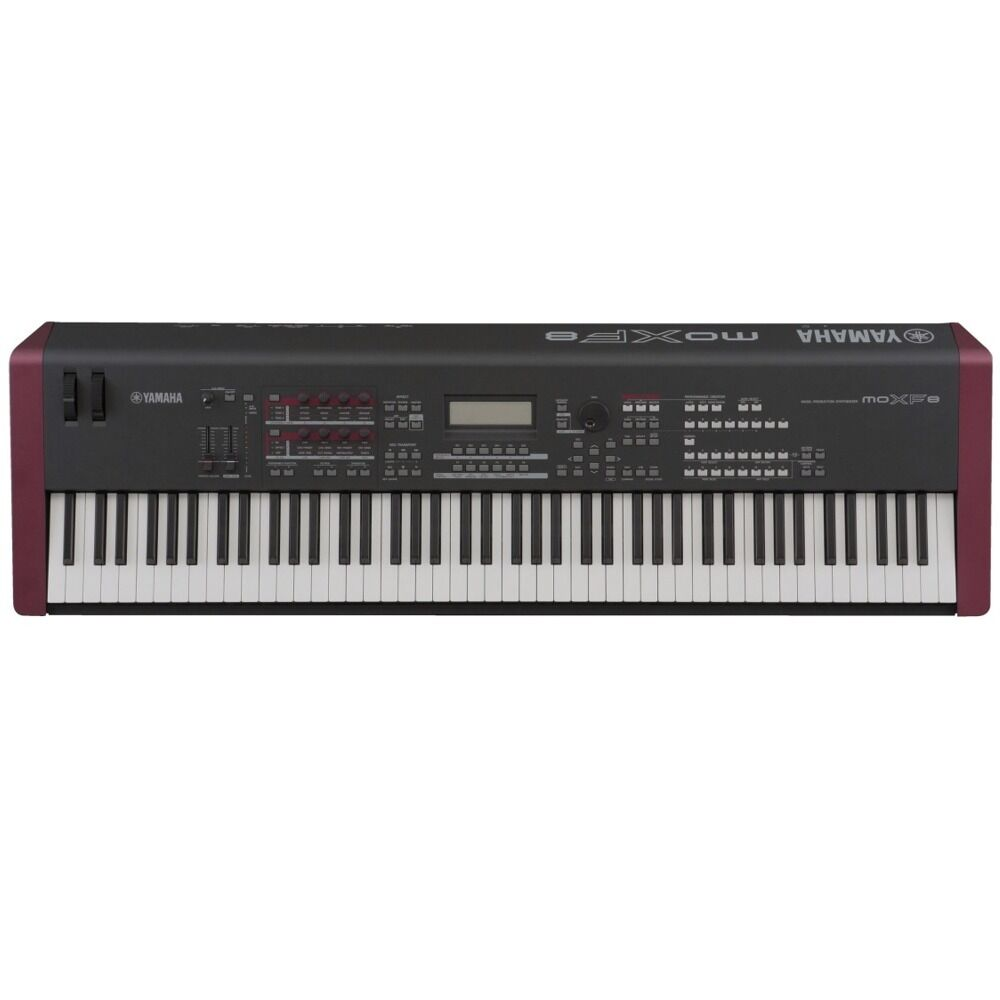 yamaha moxf8 88 key keyboard weighted synthesizer music production workstation ebay. Black Bedroom Furniture Sets. Home Design Ideas