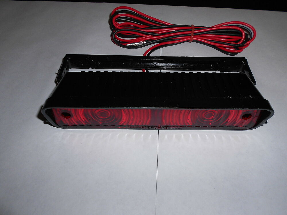 Truck Cap Topper Third Brake Light Complete With Bracket