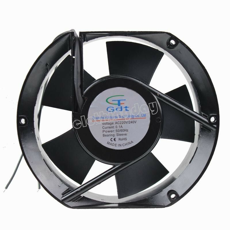 ac 220v 240v 15cm 172mm x 150mm x 51mm metal industrial ... fan 240v wiring