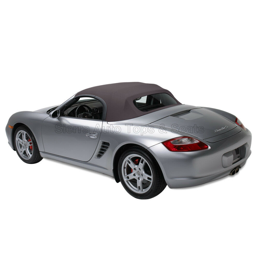 Sunroof Glass Replacement >> Porsche Boxster Convertible Top in Space Gray German A5 Cloth with Glass Window | eBay