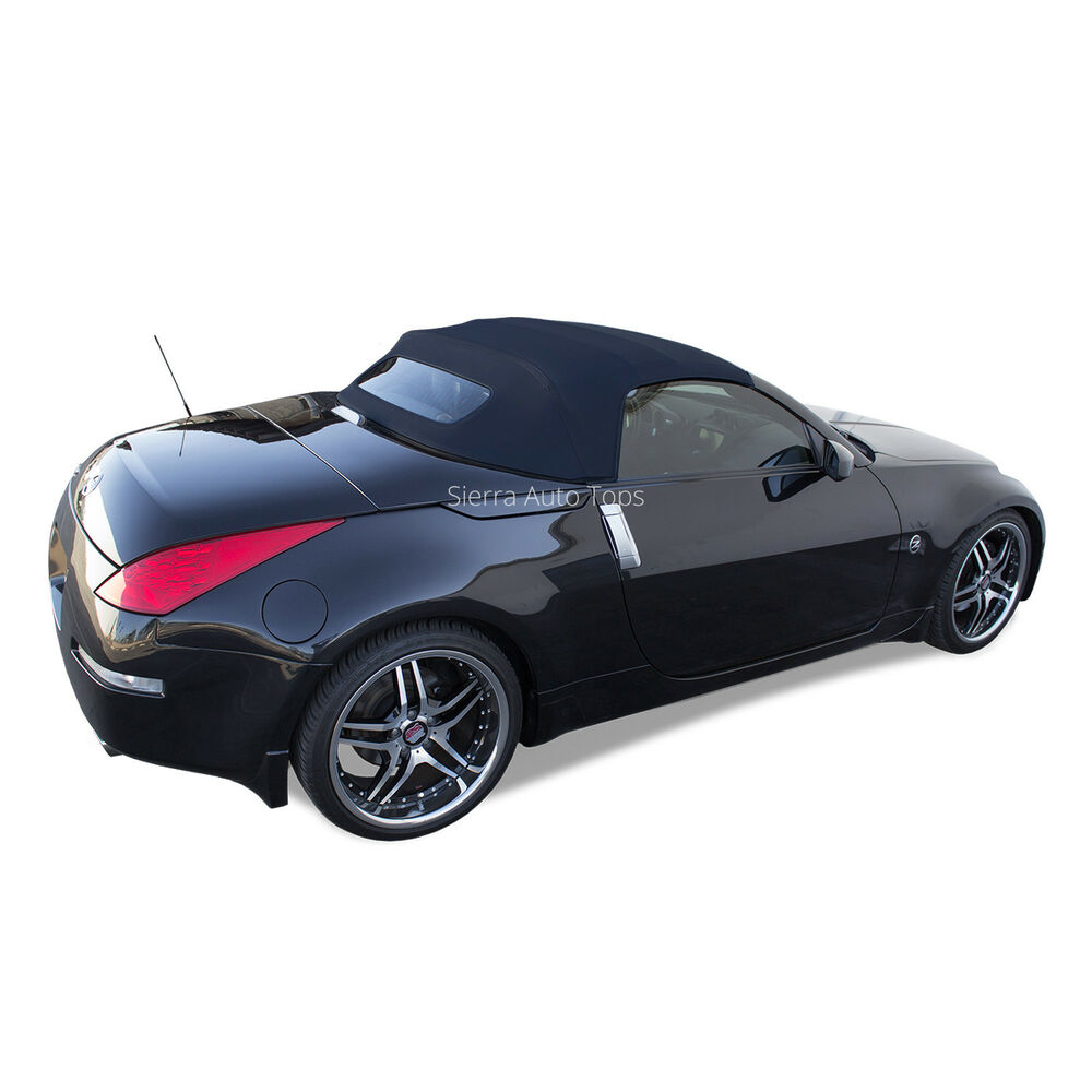 fits 2004 2009 nissan 350z convertible top blue haartz. Black Bedroom Furniture Sets. Home Design Ideas