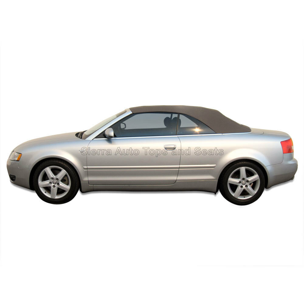 Audi A4 Convertible Top In Tan Stayfast Cloth With Glass
