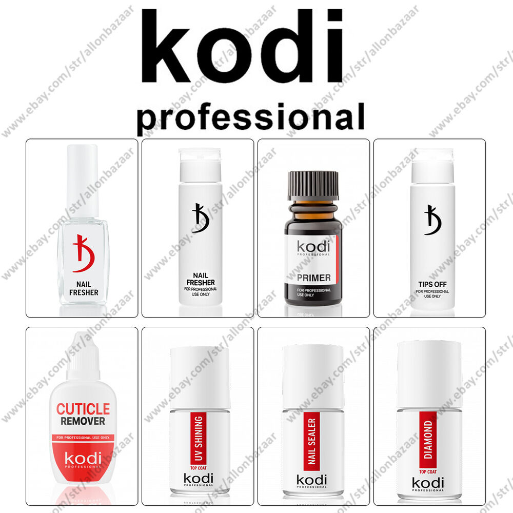 Kodi - Gel LED/UV Rubber Base / Rubber Top / Nail fresher ...