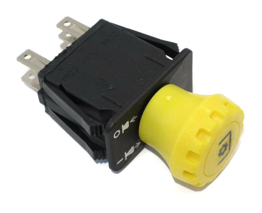 Lawn Tractor Switches : Pto switch for john deere lawn mower tractor power take
