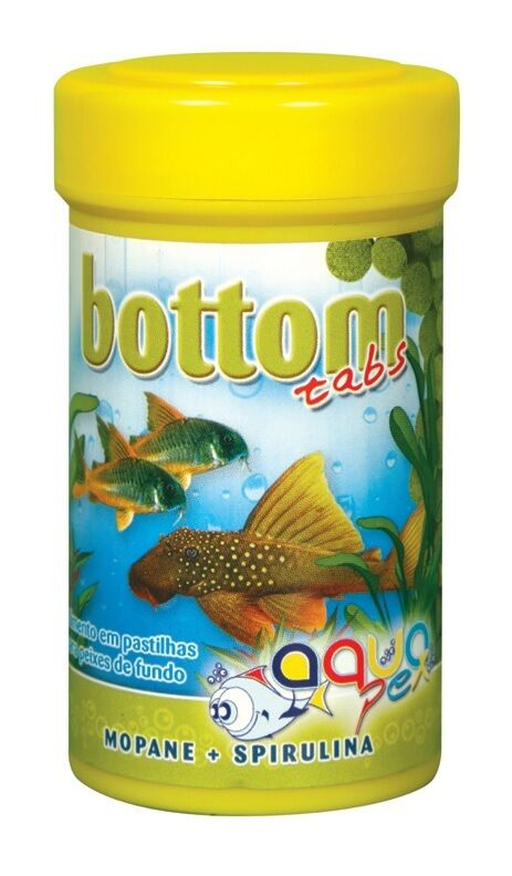 Bottom tabs fish food tablets for bottom feeding tank for Bottom feeder fish list