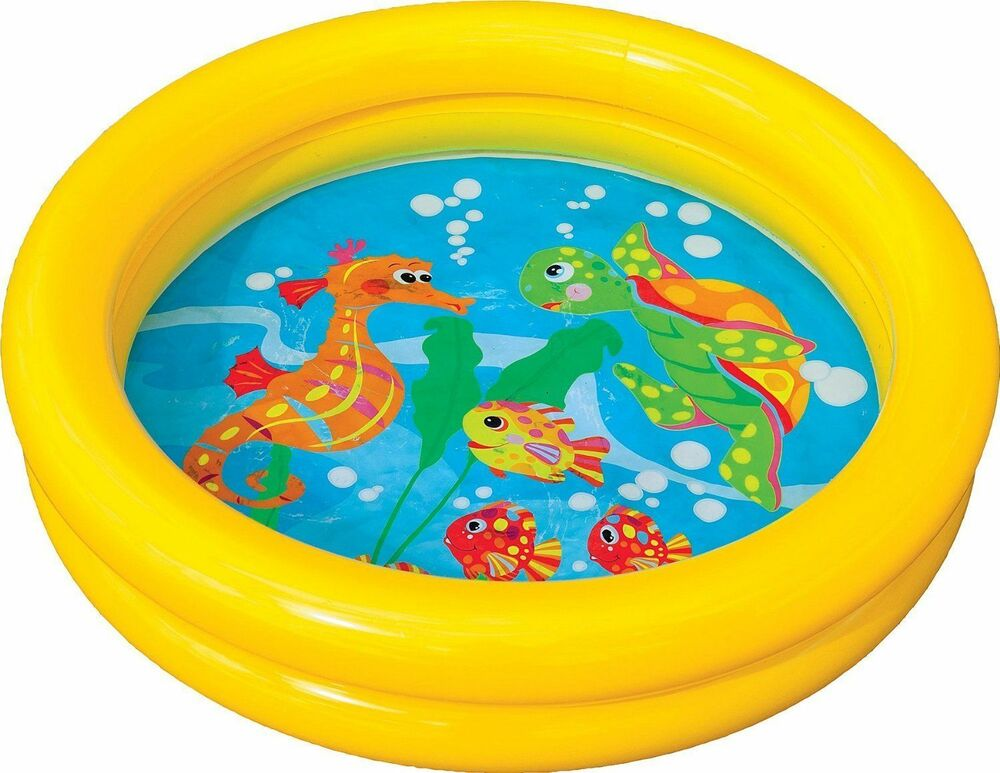 New baby toddler kids childs childrens inflatable swimming for Small paddling pool