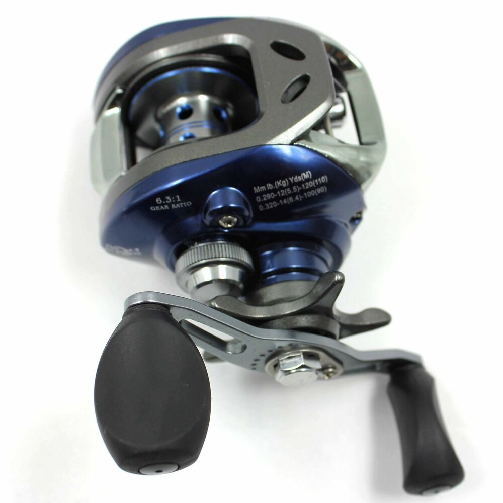 Good 10 1bb 6 3 1 right hand baitcasting fish fishing reel for Baitcasting fishing reels