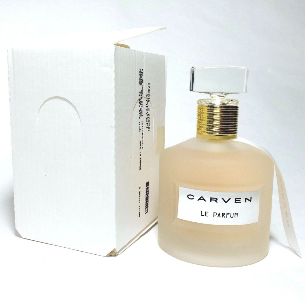 carven le parfum eau de parfum for women 100 ml oz ts perfume fragrance ebay. Black Bedroom Furniture Sets. Home Design Ideas
