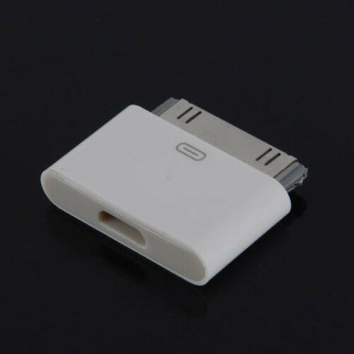 30 pin male to lightning adapter for iphone 3g s 4 4s. Black Bedroom Furniture Sets. Home Design Ideas