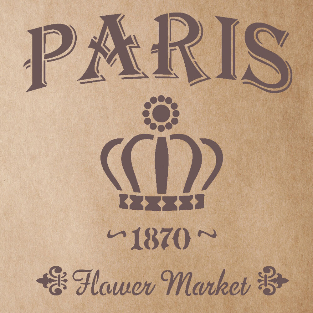 diy crafts ideas flower market 1870 stencil for painting signs crafting diy 1870