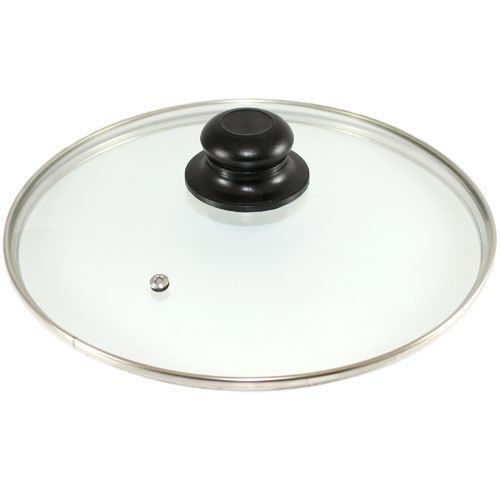 Replacement Vented Frying Fry Pan Saucepan Glass Lid Cover