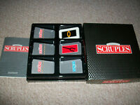 A question of SCRUPLES....GAME OF MORAL DILEMMAS!  Very good condition complete