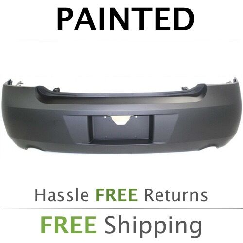 fits 2011 2012 2013 chevy impala rear bumper painted dual. Black Bedroom Furniture Sets. Home Design Ideas