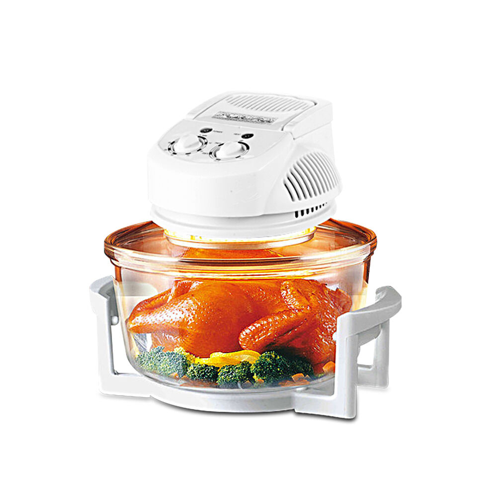 Countertop Halogen Convection Oven : Homeleader 16QT Halogen Infrared Turbo Countertop Convection Oven/Oil ...