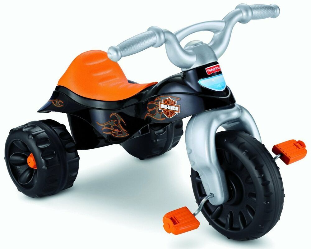 Big Boy Toys Motorcycles : Kids tricycle bike ride toy harley davidson motorcycles