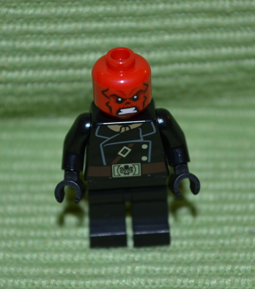 RED SKULL Minifigure - Lego ~ Marvel Super Heroes ~ X-men ...