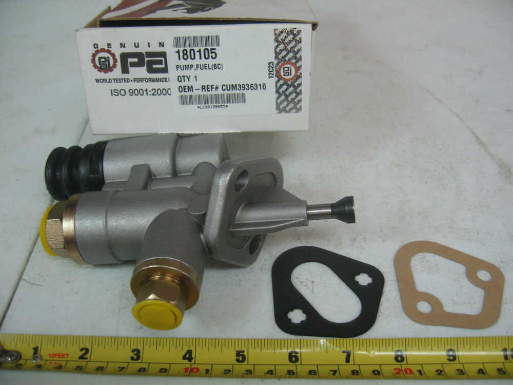 Cummins 6c Amp Isc Fuel Transfer Pump P N 180105 Ref
