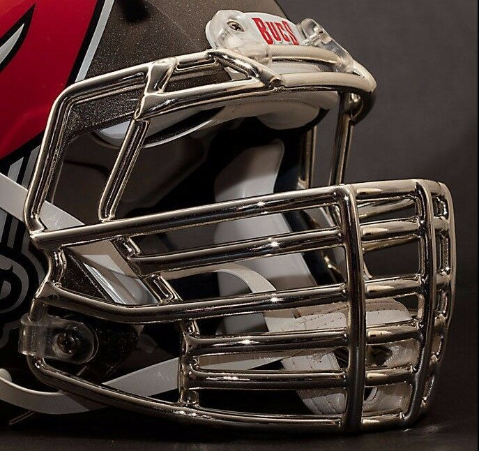 Football Helmet Grill : Custom tampa bay buccaneers riddell speed football