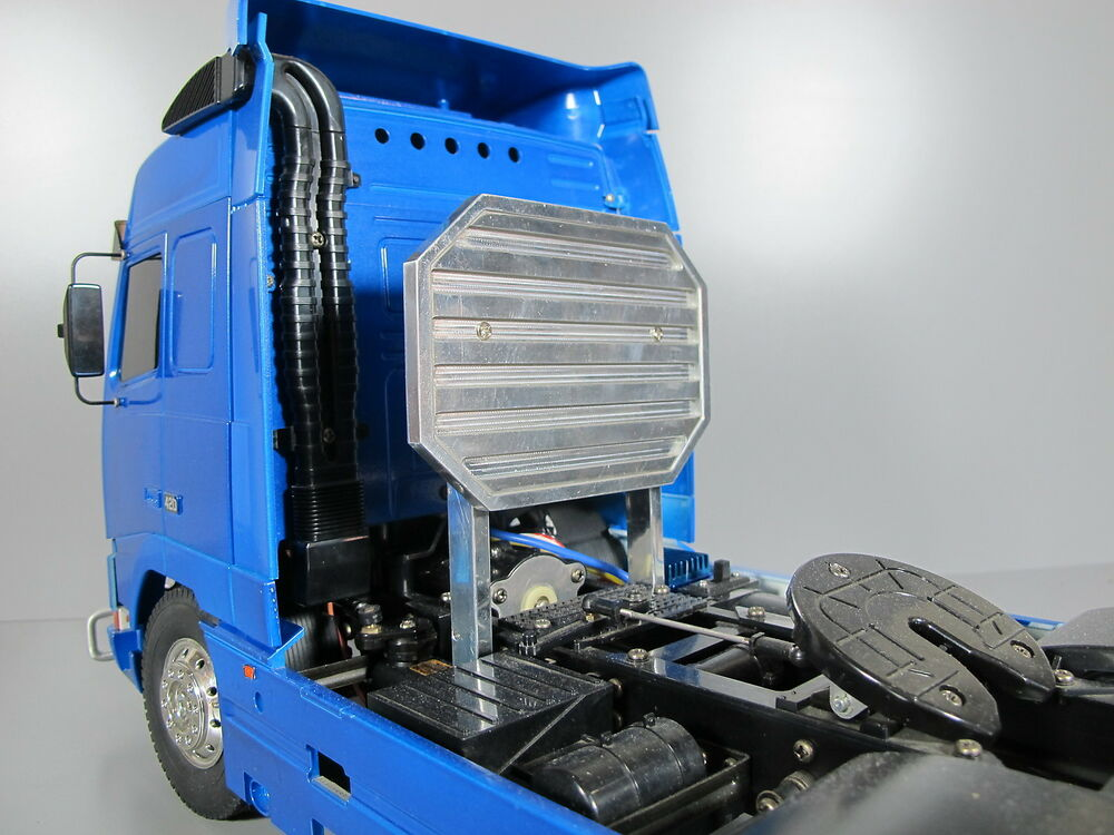Semi Truck That S Also A Toy Car Holder : New aluminum rear headache rack mount for tamiya rc