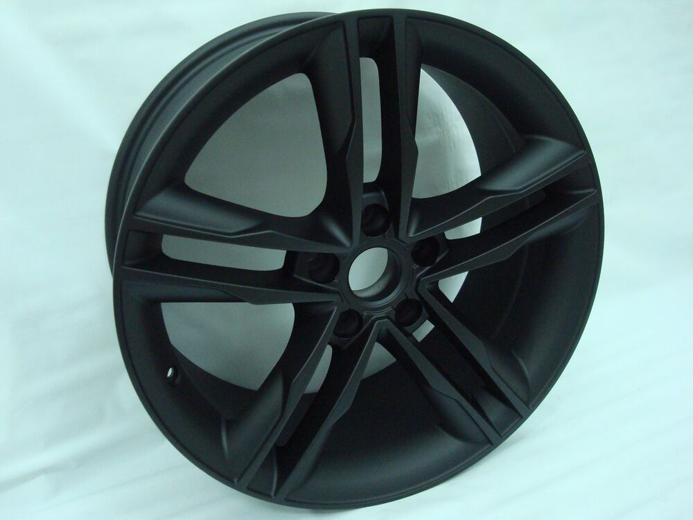 New 18x8 35 Audi Rs3 Style Black Wheel Fit Vw Passat