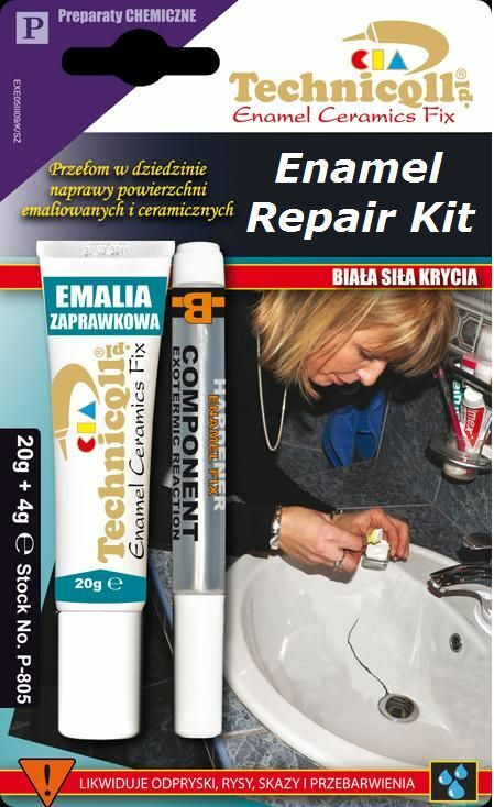 enamel repair kit bath sink shower tray chip white ceramic acrylic not
