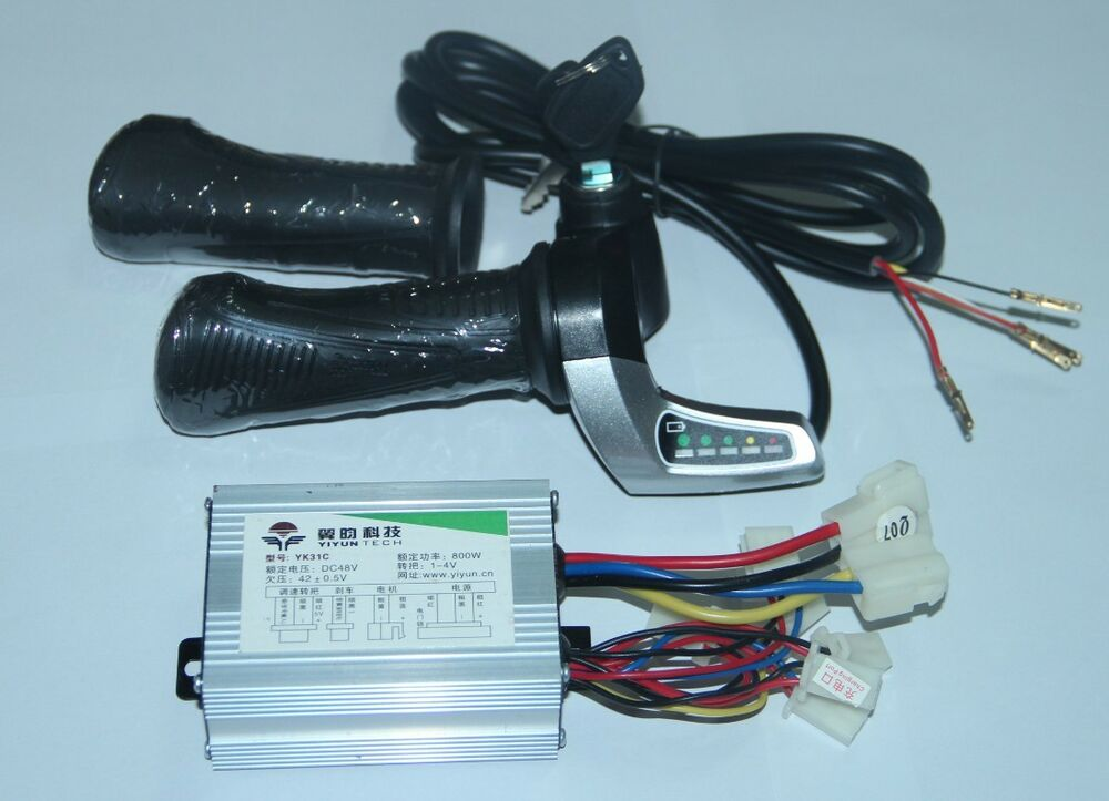 Throttle Lever For Dc Moter : V w motor brushed controller electric scooter