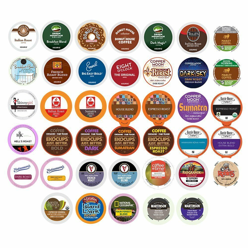 Coffee Single Serve Cups For Keurig K Cups Brewer Variety