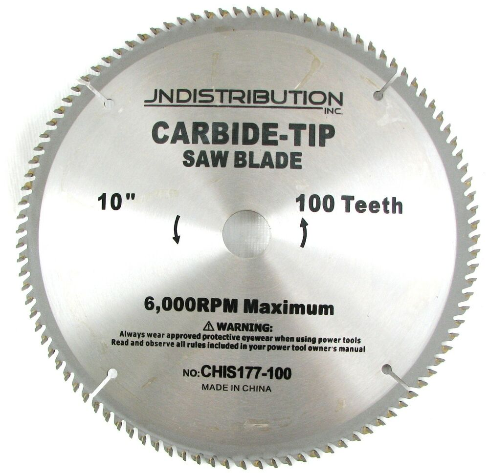 10 100 tooth carbide saw blade table mitre chop saw blade for 10 table saw blade review