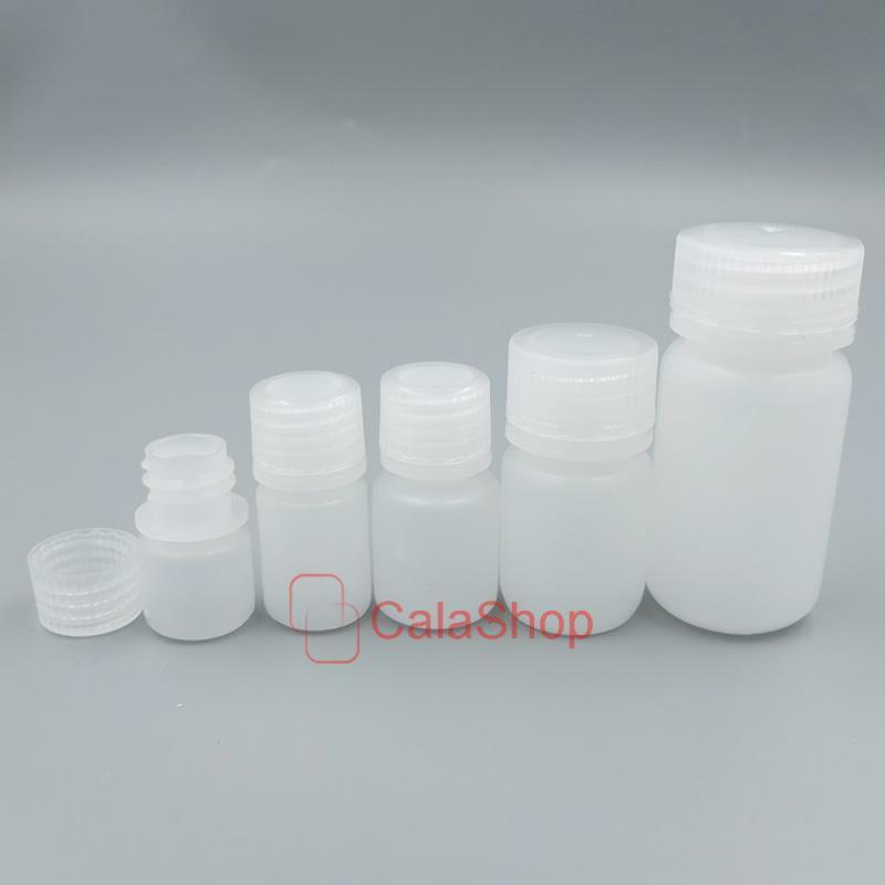 Empty Plastic Sample Vial Storage Bottle Tube Lab Counting