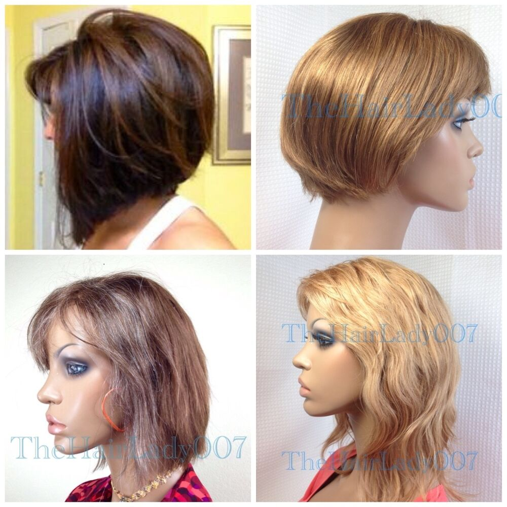 Blonde And Brown Lace Front Wigs 17
