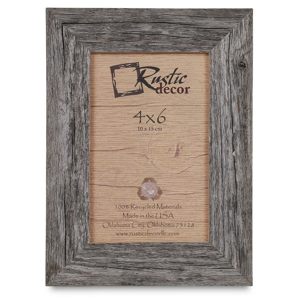 SALE Picture Frame Rustic Antique Style solid wood 12 x |Rustic Wooden Picture Frame