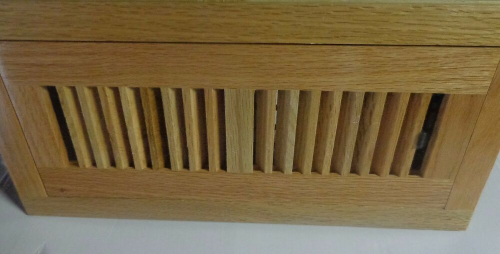 Decor grates wlf412 n 4 by 12 wood flushmount floor for Decor grates