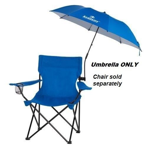 folding umbrella clamp on for outdoor chair beach camping
