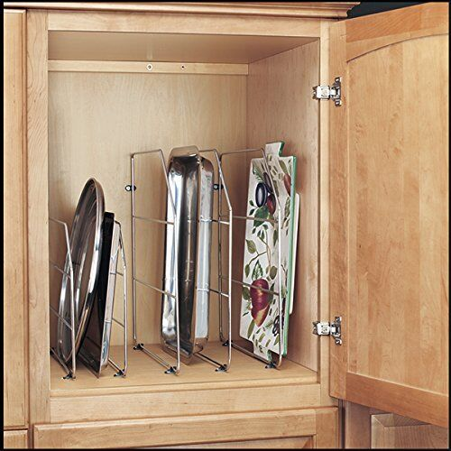 Kitchen Rv Cabinet Drawer Lid Bakeware Organizer Storage