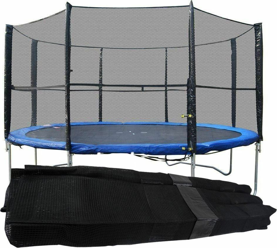 Trampoline Safety Enclosure Replacement Surround Cover Net