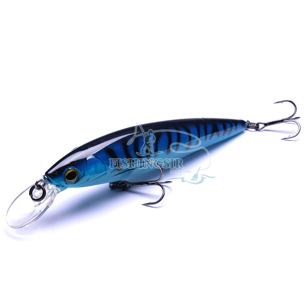 Floating shallow diving minnows jerkbaits sea water for Ocean fishing lures